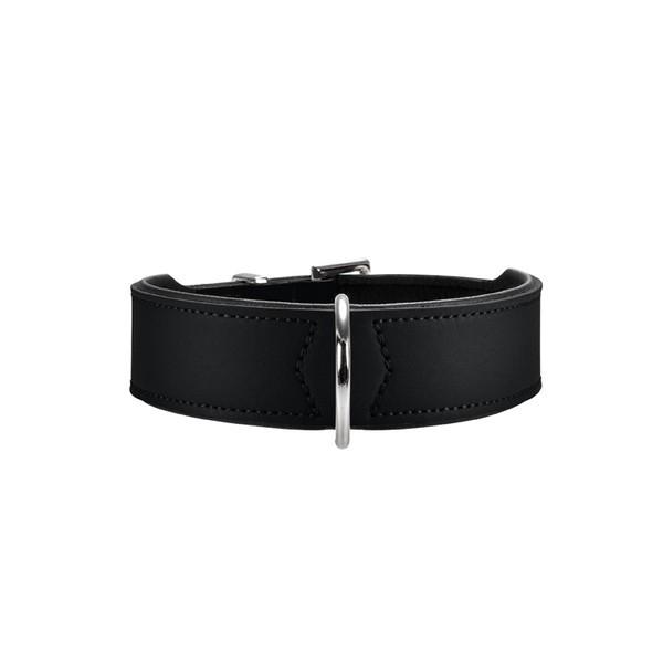 HUNTER Halsband Basic nickel schwarz