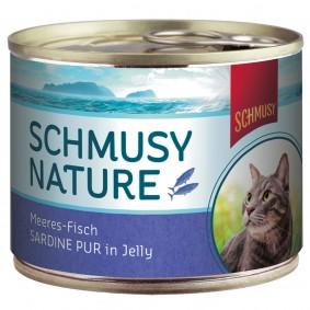 Ruhland Angebote Finnern Schmusy Katzenfutter Nature Meeres-Fisch Sardine pur 12x185g