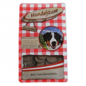 Hundejause Hundesnack Bio JausenChips 150g