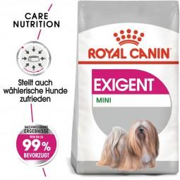 ROYAL CANIN EXIGENT MINI Trockenfutter für wählerische kleine Hunde 3kg