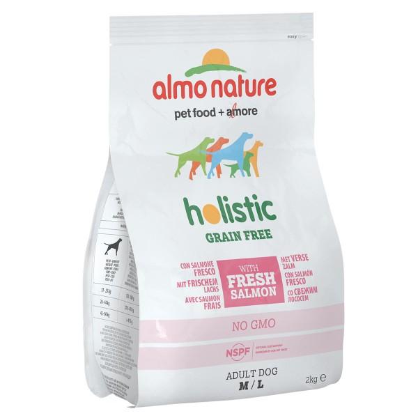 Almo Nature Holistic Grain Free Medium/Large Dogs Lachs und Kartoffeln