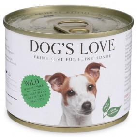 Dog's Love Classic Wild mit Kartoffel, Zwetschge & Sellerie