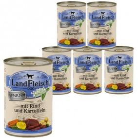 Landfleisch Dog Senior Rind & Kartoffeln 12 x 400g