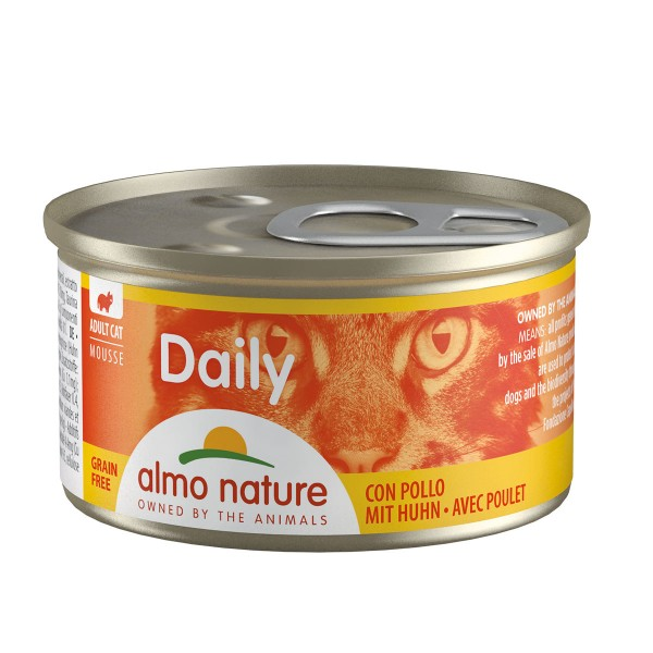 Almo Nature Daily Menu Cat Mousse mit Huhn