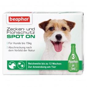 beaphar Spot On Tropfen für kleine Hunde