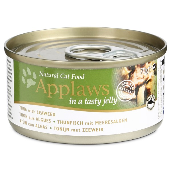 Applaws Cat Thunfisch & Meeresalgen Gelee - 70g