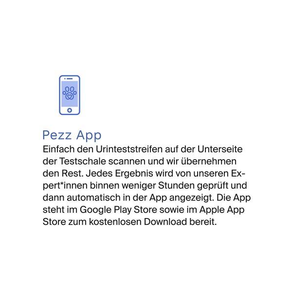 Pezz Urintest Kit für Katzen