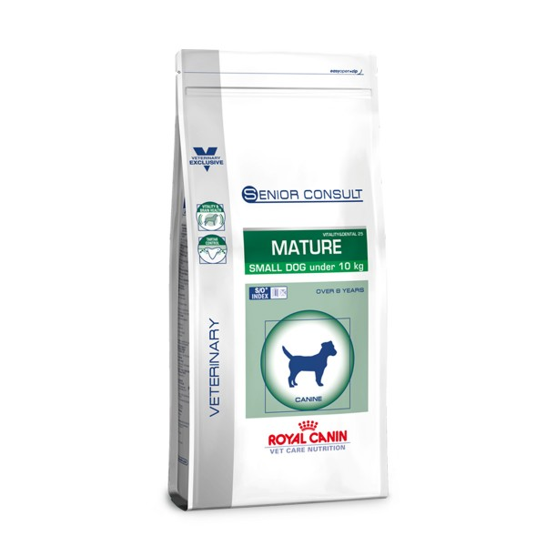 Royal Canin Vet Care Senior Consult Mature Small Dog Vitality & Dental 25