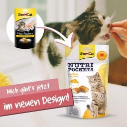 GimCat Nutri Pockets mit Käse