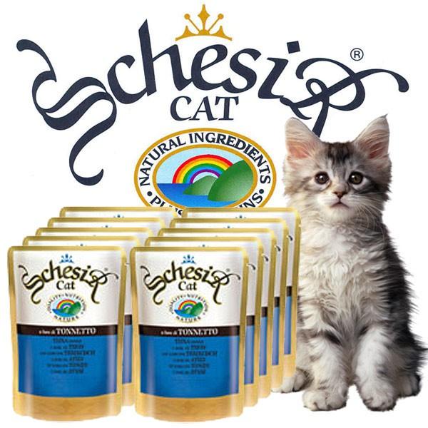 Schesir Soft Frischebeutel für junge Katzen 20x100g-Beutel