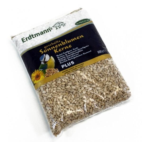 Erdtmanns geschälte Sonnenblumenkerne Plus 800g