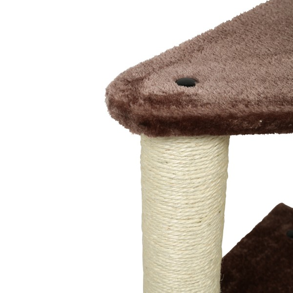 ZooRoyal Kratzbaum Nella 118 cm braun