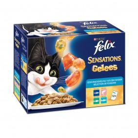 FELIX Sensations Fischauswahl Mix Multipack 12x100g