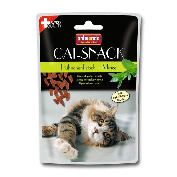 Animonda Cat Snack Hühnchenfleisch & Minze 45g