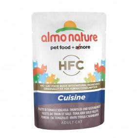 Almo Nature HFC Cuisine pouch Thunfisch und Seezungenfilet