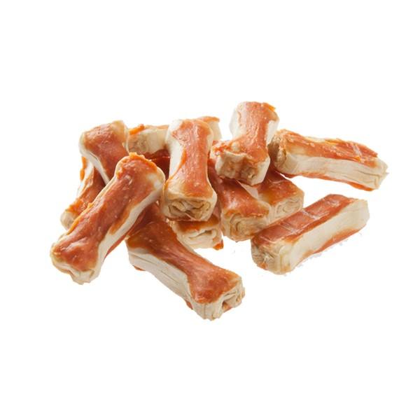 Dokas Hundesnack 5cm Kauknochen mit Huhn