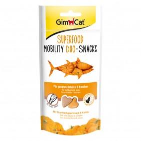 GimCat Superfood Mobility DuoSnacks mit Thunfisch & Kürbis