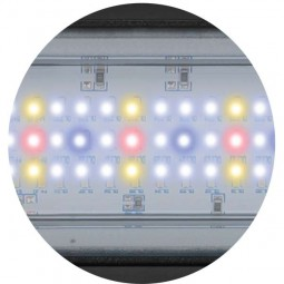 Aquatlantis Aquarium Kombination Fusion Column 70 LED weiß