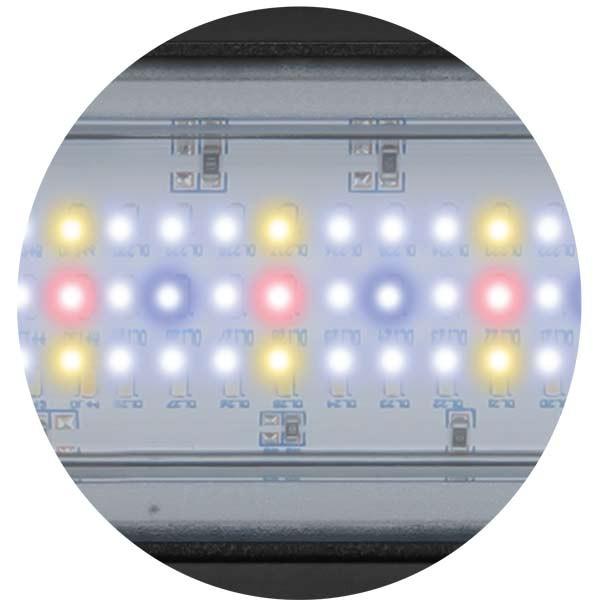 Aquatlantis Aquarium KombinationFusion 120x40 LED weiß 19mm