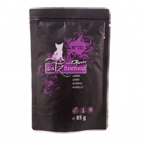 Pets Nature CATZ Finefood Purrrr No.111 Lamm 16x85g Sale Angebote Guteborn