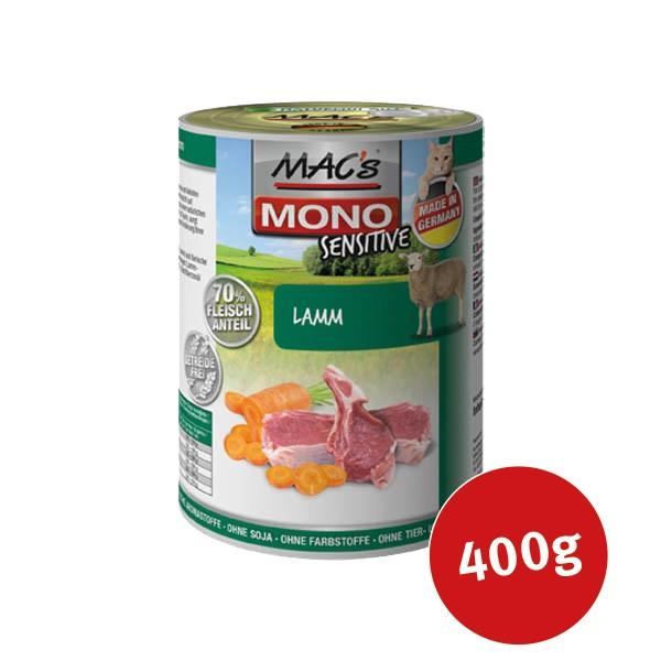 MAC´´s Cat Nassfutter Mono Sensitive Lamm - 400g