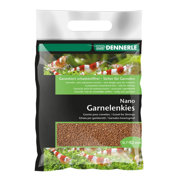 Dennerle Nano Garnelenkies Sumatra braun 2 kg