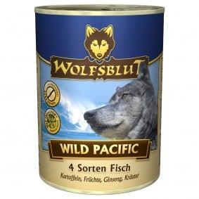 Wolfsblut Wild Pacific se 4 druhy ryb