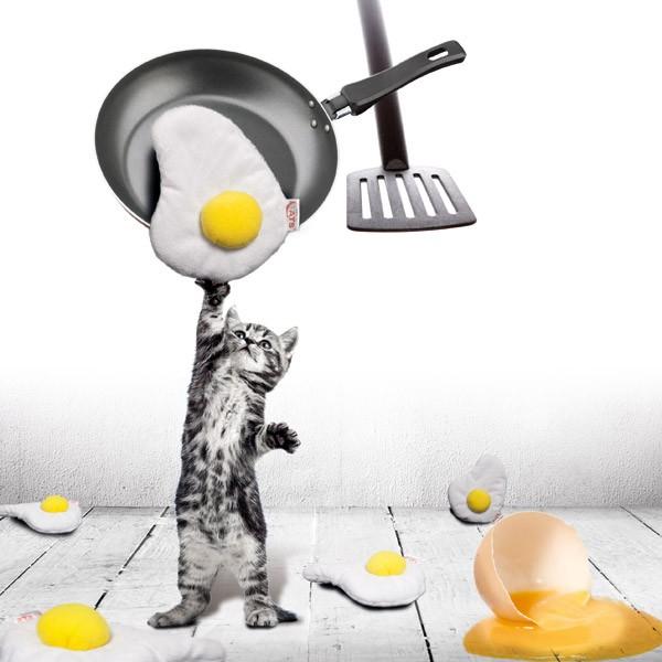 """""""4Cats"""" Baldrianspielzeug Spiegelei """"schleck-egg"""""""
