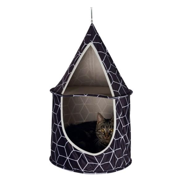 Trixie Kuschelhöhle Hanka zum Aufhängen ø35×60cm schwarz