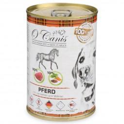 O'Canis Hundefutter Pferdefleisch und Leinsamen