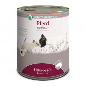 Herrmanns Hunde- und Katzen-Ergänzungsfutter 100% Pferd