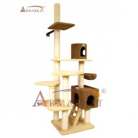 Armarkat Kratzbaum 120x93x233-253cm