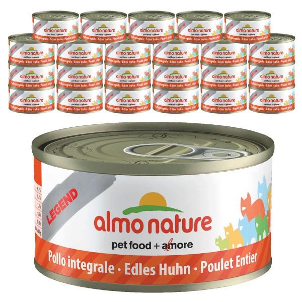 Almo Nature Legend Katzenfutter 24x70gEdles Huhn