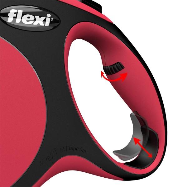 flexi New Comfort Seilleine rot