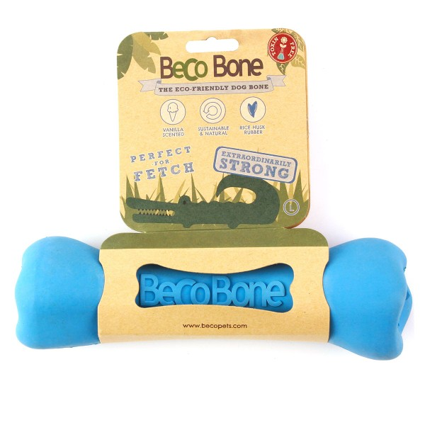 Beco Pets Spielknochen blau groß