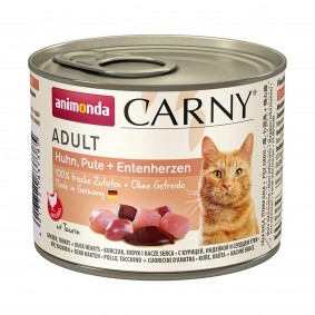 Animonda Carny Adult Huhn, Pute & Entenherzen