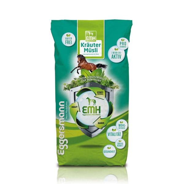 Eggersmann Pferdefutter EMH Kräuter Müsli 20kg