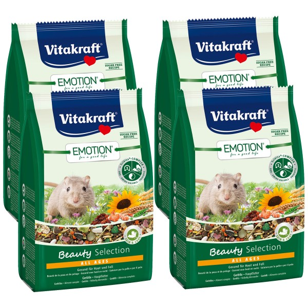 Vitakraft Emotion Beauty Selection Gerbil 4x300g