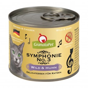 GranataPet Symphonie No. 3 zvěřina a kuřecí maso, 6 x 200 g