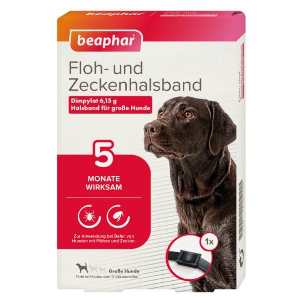 beaphar Floh- und Zeckenhalsband für Hunde 65 cm