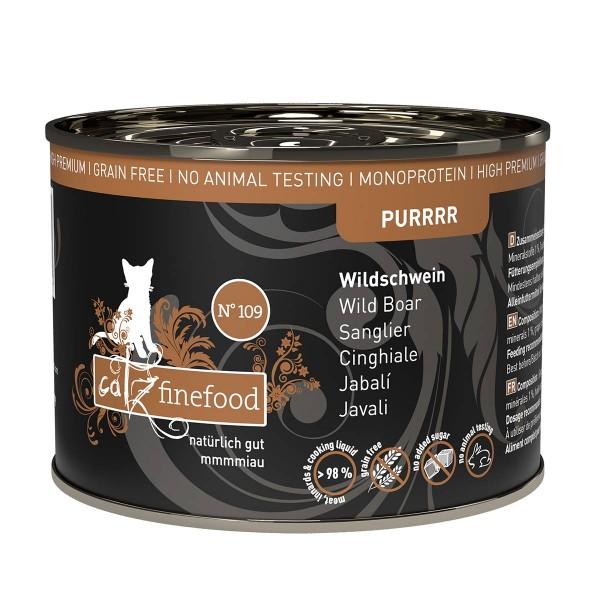 catz finefood Purrrr No.109 Wildschwein