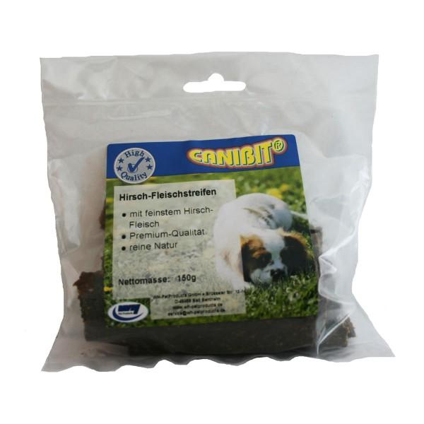 Canibit Hundesnack Hirsch-Fleischstreifen 150g