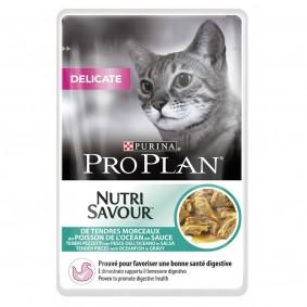 Pro Plan Katzen-Nassfutter Delicate Hochseefisch 24x85g