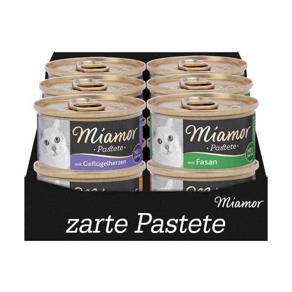 Miamor Pastete Multibox Geflügel