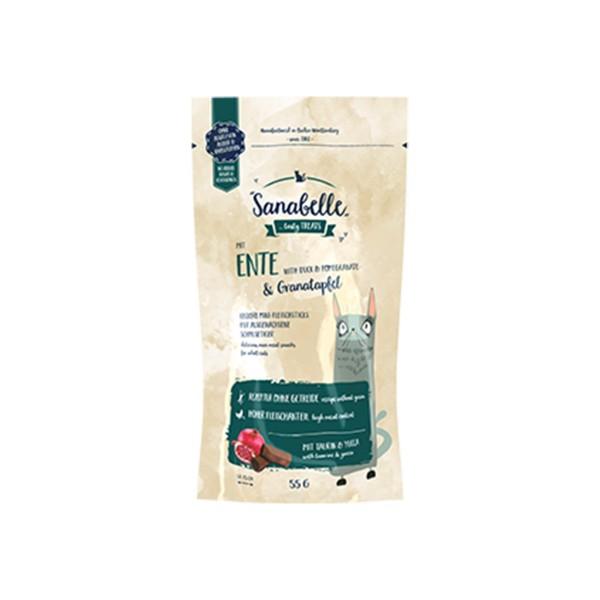 Sanabelle Katzensnack Ente & Granatapfel 55g