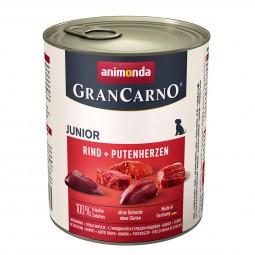 Animonda GranCarno Junior Rind und Putenherzen