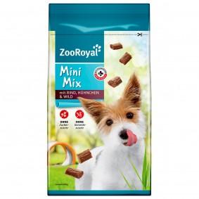 ZooRoyal pamlsek pro psy Mini Mix s hovězím masem, kuřecím masem a zvěřinou 60 g