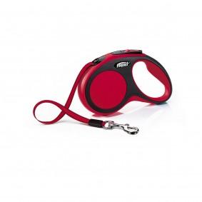 flexi New Comfort samonavíjecí vodítko, červené