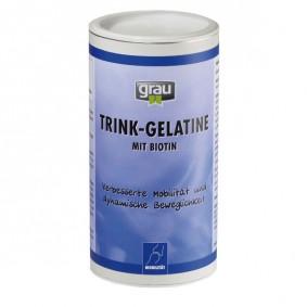 Grau Trink-Gelatine mit Biotin