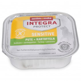 Animonda Katzenfutter Integra Protect Sensitive Pute und Kartoffel